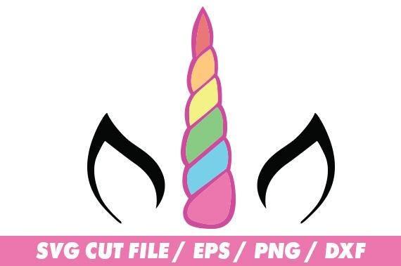 Unicorn Svg Files, Rainbow Svg, Unicorn Clipart, Unicorn Monogram