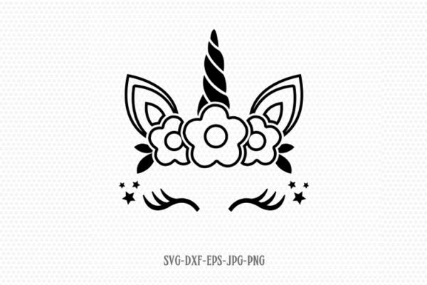 Unicorn Svg, Unicorn Eyelashes, Unicorn Birthday Svg