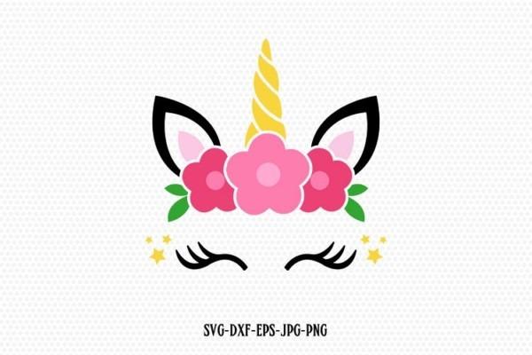 Unicorn Svg, Unicorn Eyelashes, Unicorn Birthday Svg, Magical