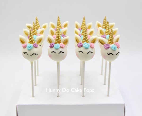 Unicorn Themed Cake Pops In 2019