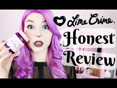 Unicornhair By Lime Crime  Honest Review, Unboxing & Tutorial
