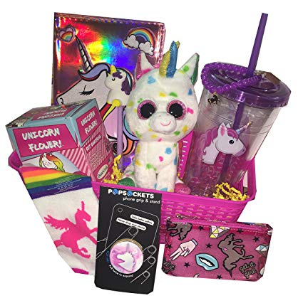 Unicorns & Rainbows Magical Gift Basket