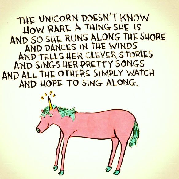 Unicorns Are Rare …