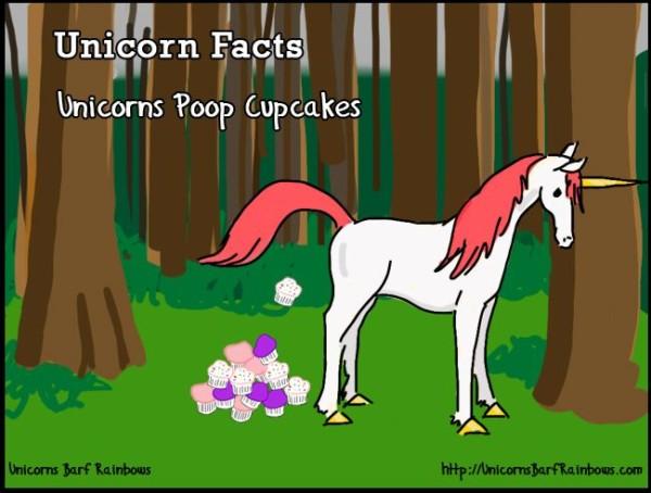Unicorns Poop Cupcakes