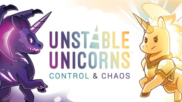 Unstable Unicorns  Control & Chaos Card Game Expansions Up On