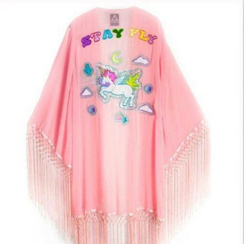 Wanted  Unif Stay Fly Unicorn Kimono Size Xs Or Sm  Just For