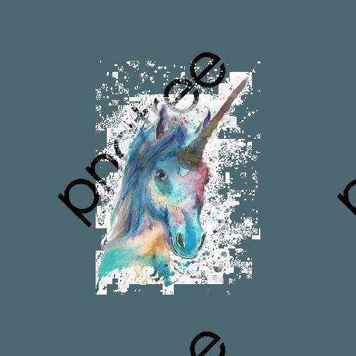Watercolor Unicorn, Watercolor Clipart, Unicorn Clipart, Unicorn