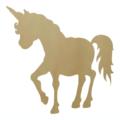 Wooden Unicorn Shapes