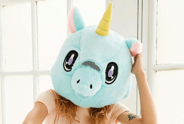 Giant Unicorn Head