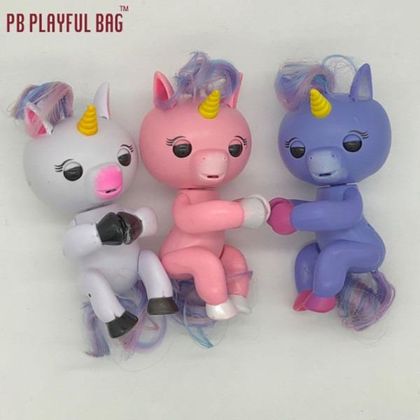 2017 New Finger Interactive Baby Unicorn Mini Interactive Finger