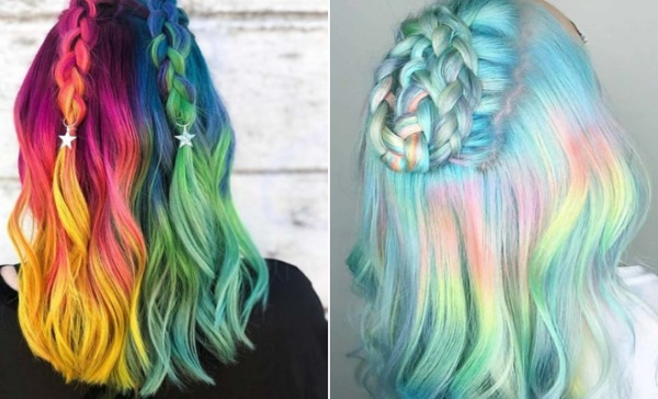 21 Unicorn Hair Color Ideas We're Obsessed With