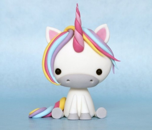 Air Dry Clay Tutorials  Cute Critter Week ~ Rainbow Unicorn