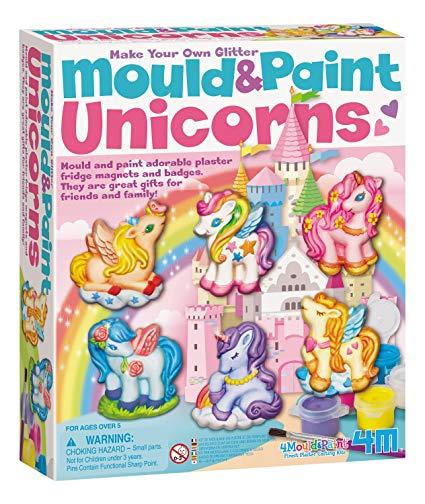 Amazon Com  4m Unicorns Mould & Paint Kit  Toys & Games