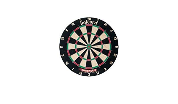 Amazon Com   Unicorn Checkout Bristle Dartboard   Sports & Outdoors