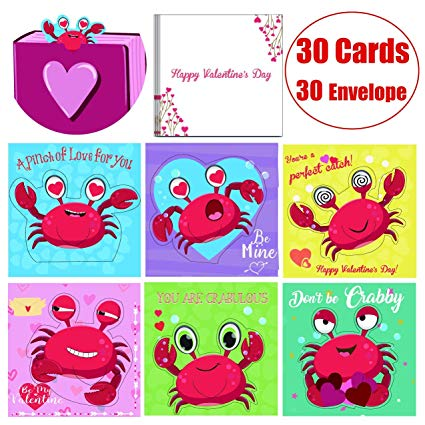 Amazon Com   Valentine Day Cards Bookmarks Scratch And Sniff Packs