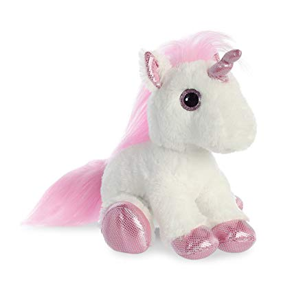 Amazon Com  Aurora World Inc  12  Pink Unicorn  Toys & Games