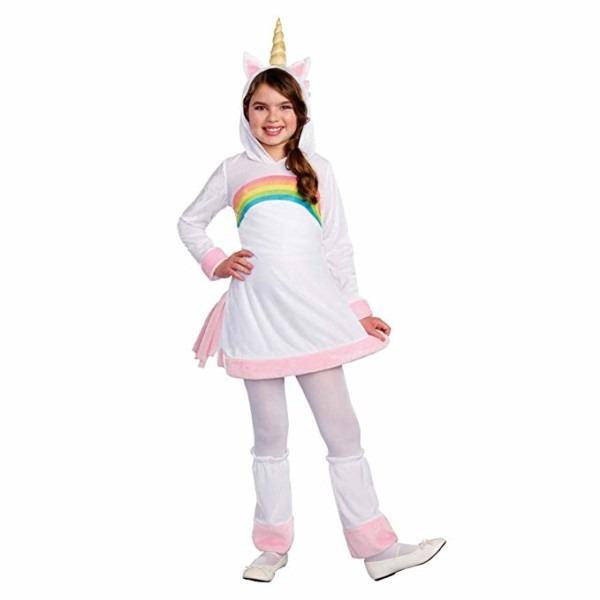 Amazon Com  Cuddly Unicorn Costume Size 4 To 6 Yers  Clothing