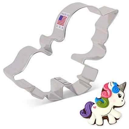 Amazon Com  Cute Unicorn Cookie Cutter By Lilaloa