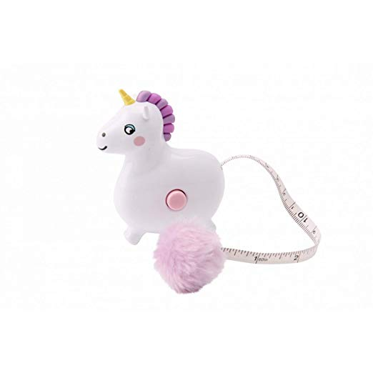 Amazon Com  Eureka Unicorn Tape Measure (one Size) (white Pink