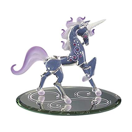 Amazon Com  Glass Baron ~ Unicorn Fairy Tales Figurine  Home & Kitchen