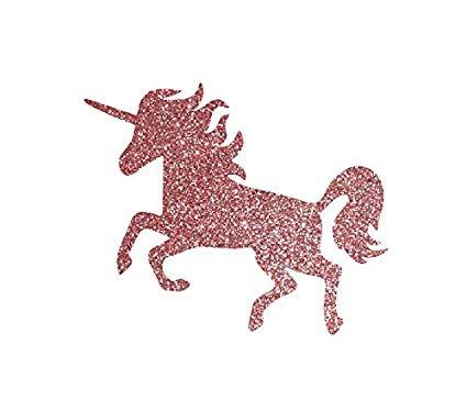 Amazon Com  Glitter Unicorn Iron On Patch, Iron On Transfer, Gold