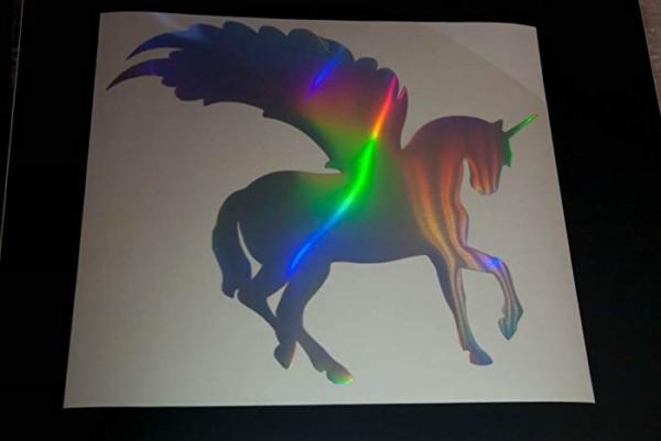 Amazon Com  Glitter Unicorn, Iron On Vinyl Design, Diy Heat