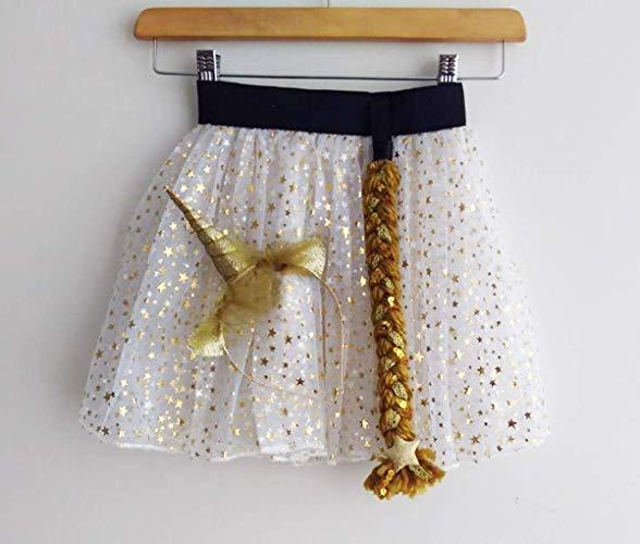 Amazon Com  Gold Unicorn Costume