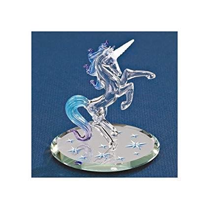 Amazon Com  Goldia Glass Baron Unicorn, Starlight  Home & Kitchen