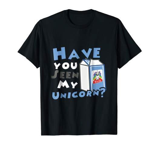 Amazon Com  Have You Seen My Unicorn  Milk Box T Shirt  Clothing
