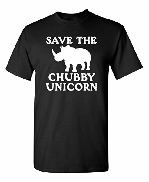 Amazon Com  Save The Chubby Unicorn Novelty Graphic Sarcastic
