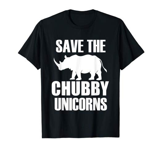 Amazon Com  Save The Chubby Unicorns T