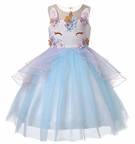 Amazon Com  Ttyaovo Girls Unicorn Costume Dress Kids Pageant