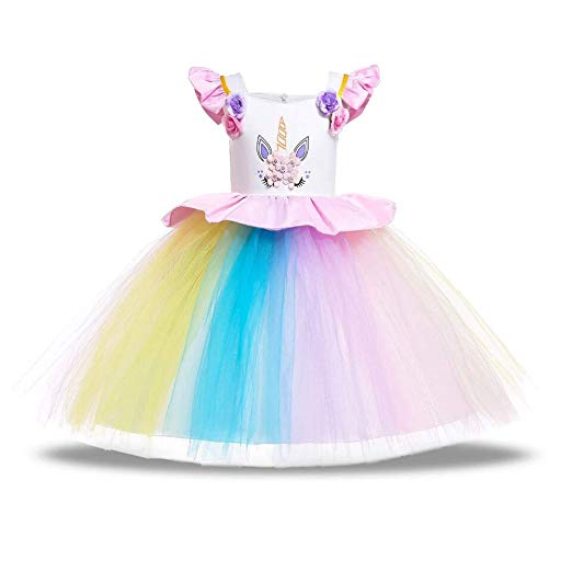Amazon Com  Unicorn Costume For Girls Dress Up Clothes For Little