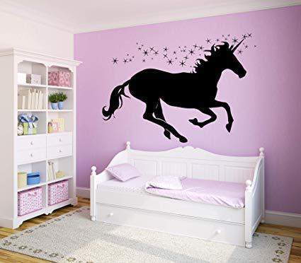 Amazon Com  Unicorn Decals For Girls Room