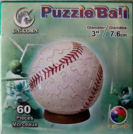 Amazon Com  Unicorn Puzzle Ball Spherical 60 Piece 3