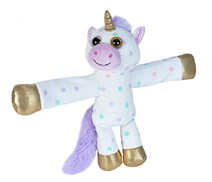 Amazon Com  Wild Republic Huggers Unicorn Plush, Slap Bracelet