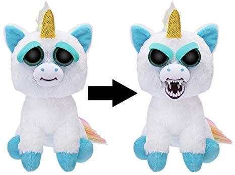 Amazon Com  Wmc Feisty Pets Paranoid Prisma The Rainbow Unicorn