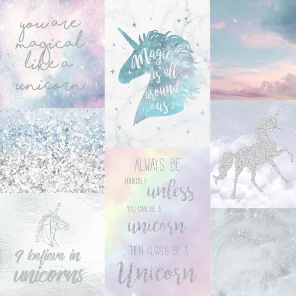 Arthouse Believe In Unicorns Wallpaper 698300