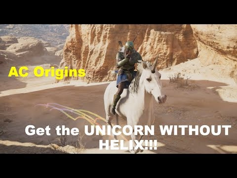 Assassin's Creed Origins  Unicorn  How To Get It Without Helix
