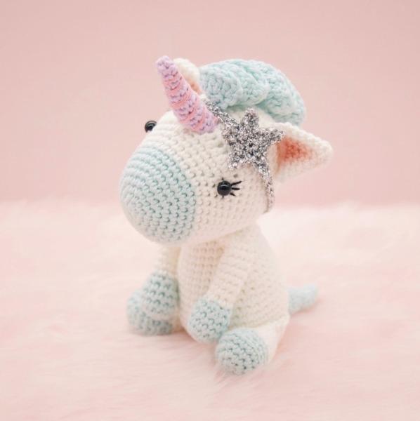 Aurora The Unicorn Amigurumi Pattern