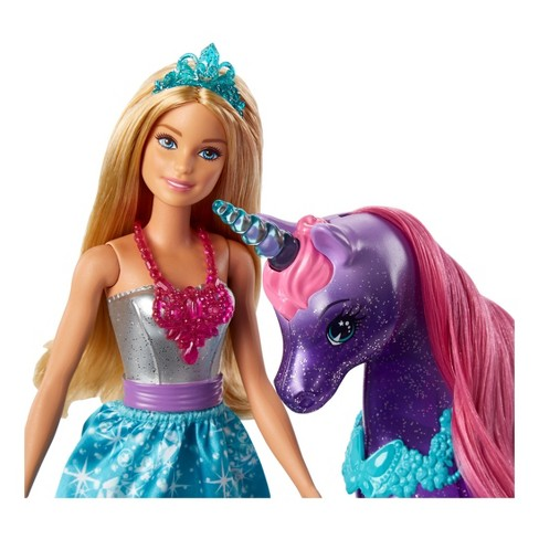 Barbie Dreamtopia Doll And Unicorn   Target
