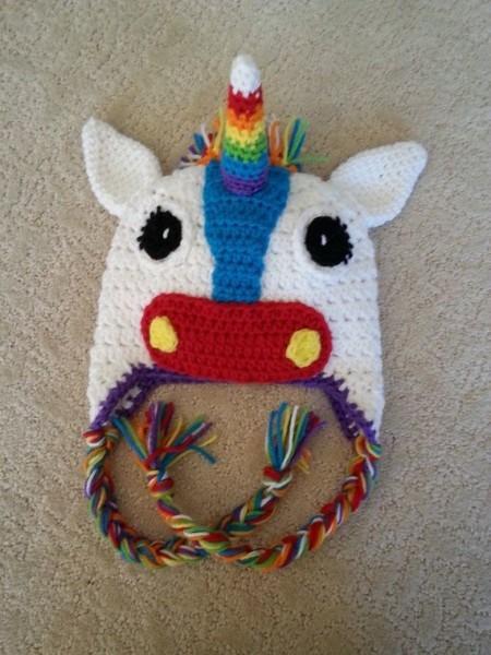 Customizable Crochet Unicorn Or Horse Hat On Etsy, $20 00