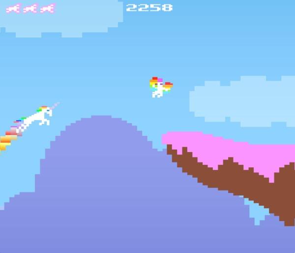 Dec 4, 2012 Robot Unicorn Attack Goes Retro Kotaku The Erasure
