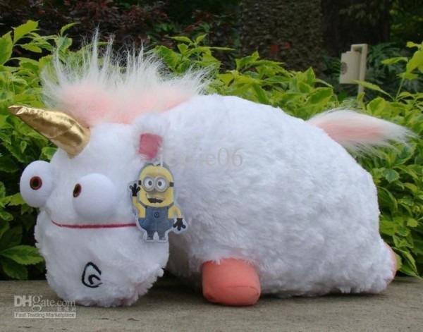 Despicable Me 2 Fluffy Unicorn Plush Stuffed Pillow Toys, Giant