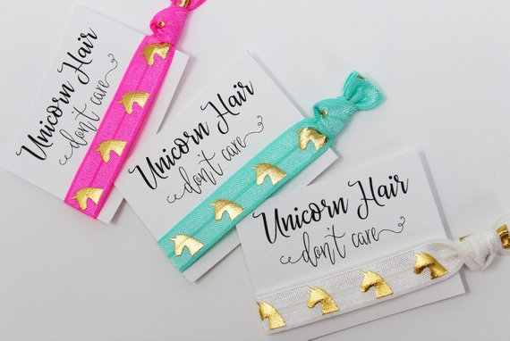 Detail Feedback Questions About Personalize 12pcs Unicorn Hair Don
