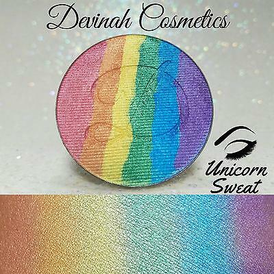 Devinah Cosmetics Rainbow Highlighter Unicorn Sweat 44mm Pan