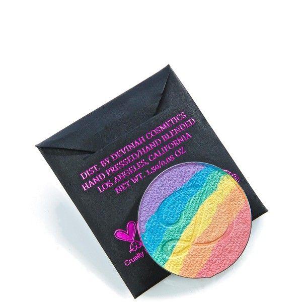 Devinah Cosmetics Unicorn Sweat Highlighter ($18) ❤ Liked On