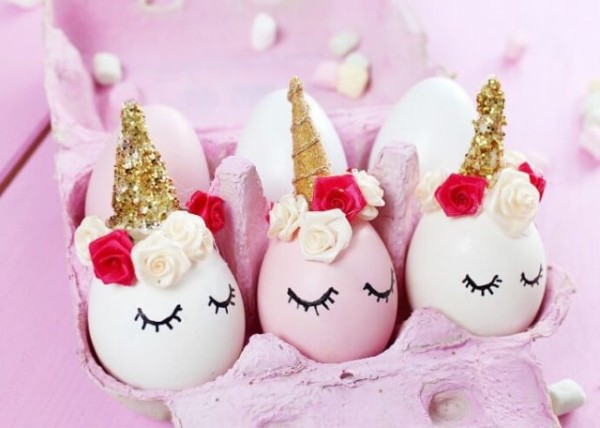 Diy Unicorn Easter Eggs