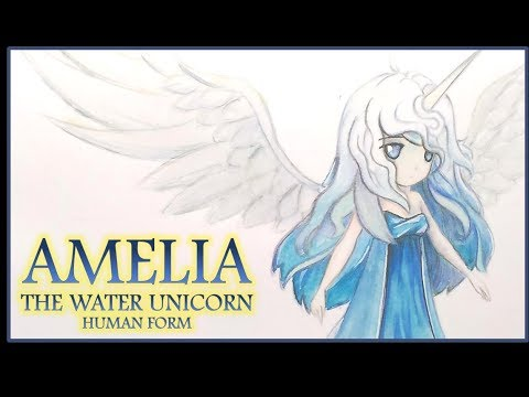 Fanart] Amelia The Water Unicorn From Summoners War (human Form
