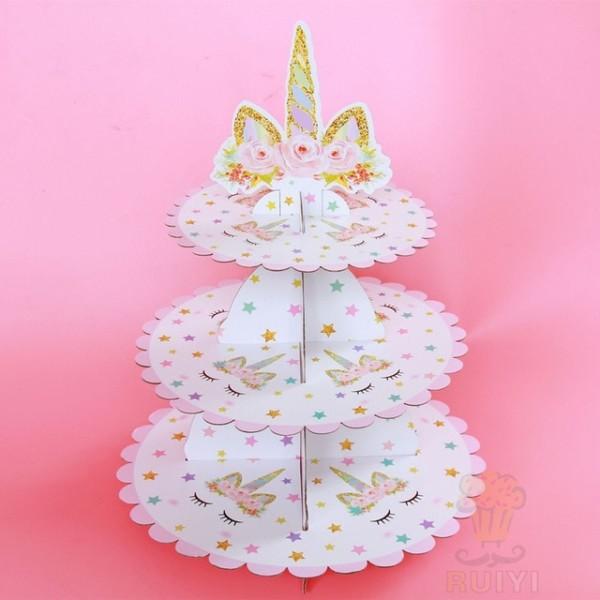 Free Shipping 1 X Mickey Sofia Princess Unicorn Cupcake Holder